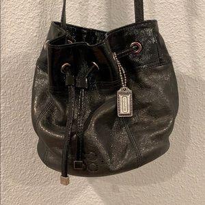 Coach crossbody bucket purse